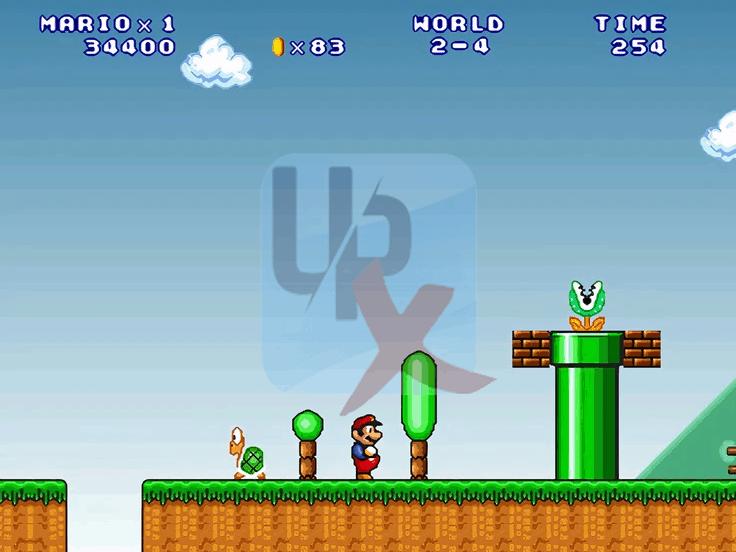 لعبة ماريو القديمة الاصلية Super Mario