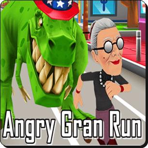 لعبة Angry Gran Run