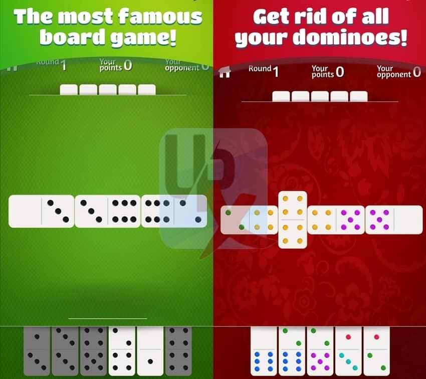 لعبة الدومينو dominoes