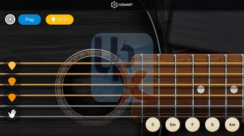 تطبيق Real Guitar جيتار حقيقي